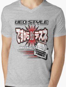 Ae86 Ueo Drift Magic Mens V-Neck T-Shirt
