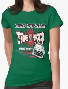Ae86 Ueo Drift Magic Womens Fitted T-Shirt