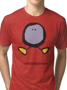 Purple Blob Leap Tri-blend T-Shirt