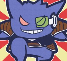 Captain Gengar of Ginyu Squad Sticker