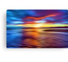 Spectrum Beach Canvas Print