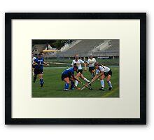 091611 062 0 field hockey Framed Print