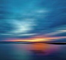 Sunburst Sunset by David Alexander Elder