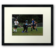 091611 092 0 field hockey Framed Print