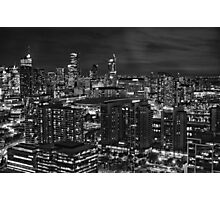 0808 Melbourne View Photographic Print