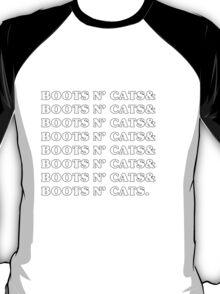 Boots n' Cats T-Shirt