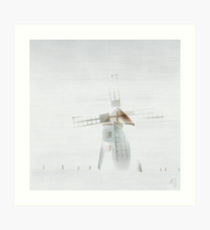 """""""fog"""" at Butle, Fårö, Gotland, Art Print"""