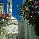 Street scene in Kyrenia by Alex Cassels