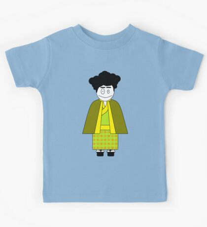 ★ Japanese Family - Japan Spirit Dolls - Daddy ★ Kids Tee
