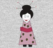 ★ Japanese Family - Japan Spirit Dolls - Mummy ★ One Piece - Long Sleeve