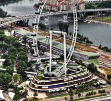 Singapore Flyer - View from SkyPark Sticker