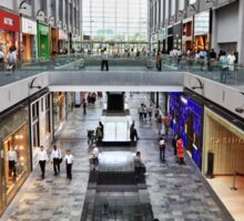 Shopping Arcade Marina Bay Sands Expo & Convention Centre Sticker