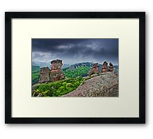 Belogradchik Rocks, Bulgaria Framed Print