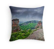 Belogradchik Rocks, Bulgaria Throw Pillow