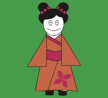 ★ Japanese Family - Japan Spirit Dolls - Girl ★ Kids Clothes