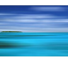 Tropical Desert Island Photographic Print