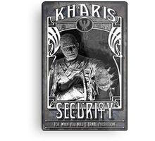 Kharis Security Metal Print