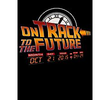On Track to The Future 2015 Photographic Print