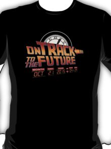 On Track to The Future 2015 T-Shirt