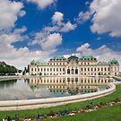 Belvedere Palace, Vienna, Austria by Ivo Velinov