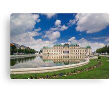 Belvedere Palace, Vienna, Austria Canvas Print