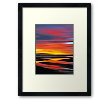 Wetlands Twilight Framed Print