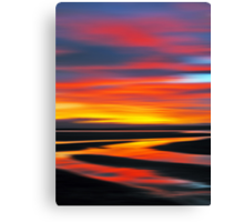 Wetlands Twilight Canvas Print