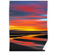 Wetlands Twilight Poster