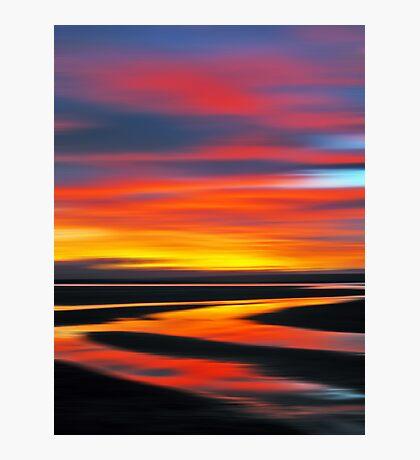 Wetlands Twilight Photographic Print