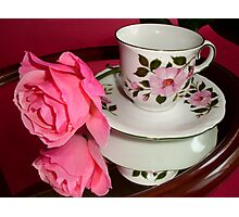 ROSE-CUP Photographic Print