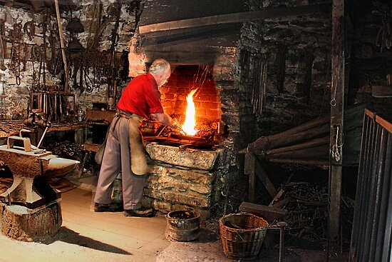 Irish Blacksmith by joshuatree2