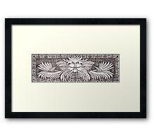 Aztec Guardian 2 Framed Print