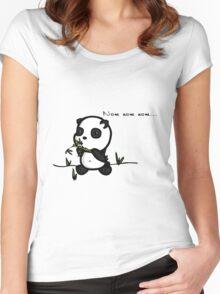 Nom nom Women's Fitted Scoop T-Shirt