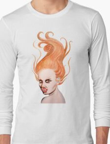 Vampire with Red Hair T-Shirt