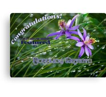 Featured Banner Challenge for Bubbling Artists Canvas Print