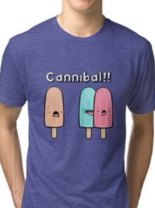 CANNIBAL! Tri-blend T-Shirt