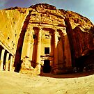 Building in Petra by petitejardim