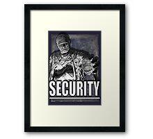 Mummy's Security Framed Print
