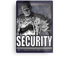 Mummy's Security Metal Print
