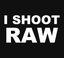 i shoot raw funny mens personalised t shirt by jokestore