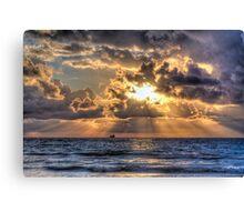 Morning Mooring -- Miami Beach, Florida Canvas Print