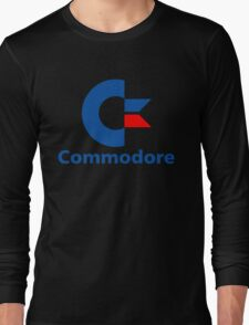 Classic Commodore C64 Graphic Tee Long Sleeve T-Shirt
