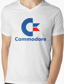 Classic Commodore C64 Graphic Tee Mens V-Neck T-Shirt