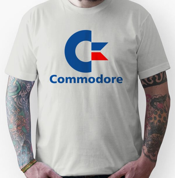 Classic Commodore C64 Graphic Tee