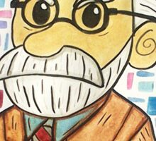 Sigmund Freud Sticker