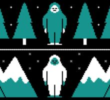 Paranormal Christmas Sweater Sticker