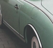 Mint Green Figaro Sticker