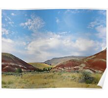 Painted Hills Poster