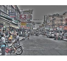 busy street Photographic Print