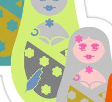 ★ Matriochkas - Cute Russian Dolls ★ Sticker